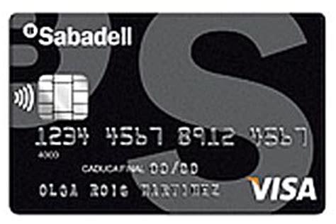 tarjetas banco sabadell tarjeta de cr 233 dito visa classic de banco sabadell