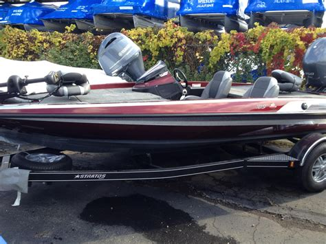 stratos boats 189 vlo for sale 2014 used stratos 189 vlo bass boat for sale 30 999