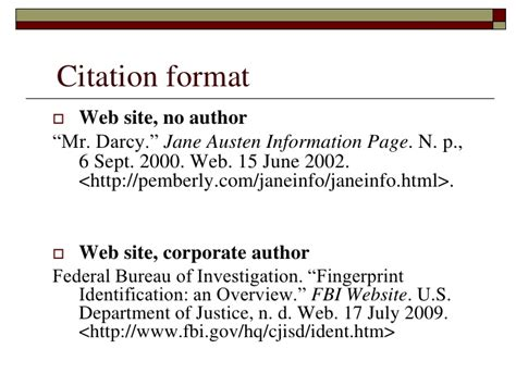 format apa website with no author mla annotated bibliography no author