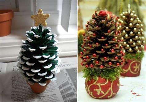 mini christmas trees diy alldaychic