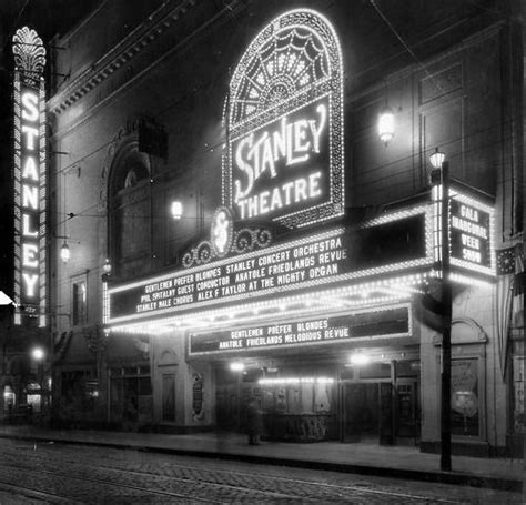 pittsburgh civic light opera the stanley theater opened in february of 1928 closing in