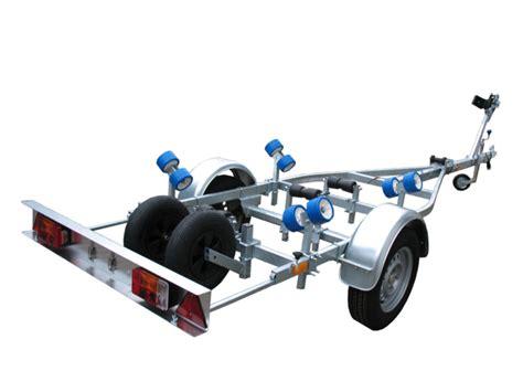 boottrailer geremd of ongeremd easyroller boottrailer model 002 kx ongeremd
