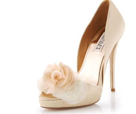 Creme Schuhe Hochzeit by Shoes