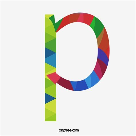 colorful letters colorful letters p letter colorful p png image and