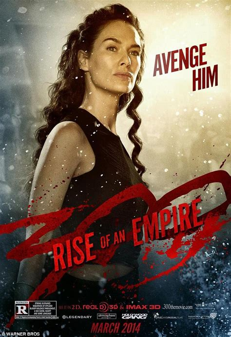 film queen of game 300 rise of the empire poster features eva green in full