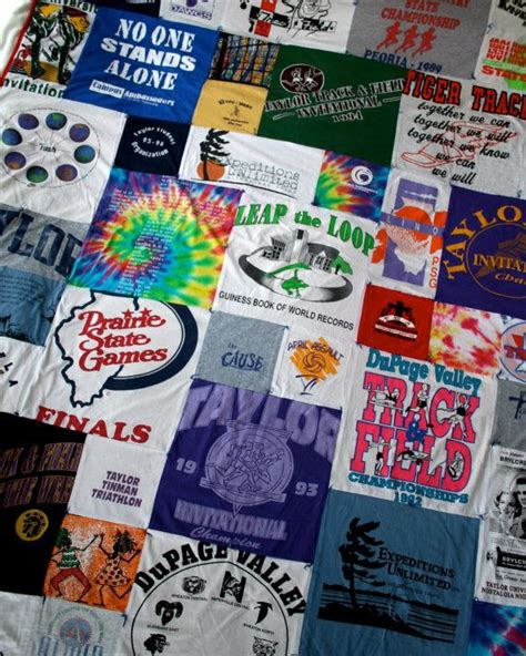 Running Shirt Quilt by T Shirt Quilt Wanna Do W Tshirts Someday