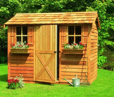 Backyard Wood Sheds by Simple Storage Shed Designs For Your Backyard Cool Shed