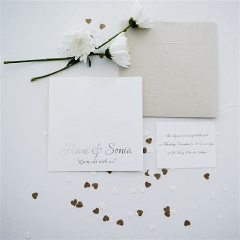 Personalized Wedding Stationery by Alouane For Attractive Personalized Wedding Stationery