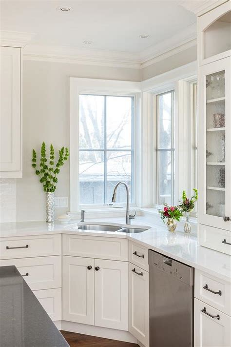 small corner kitchen sink corner kitchen sink design transitional kitchen