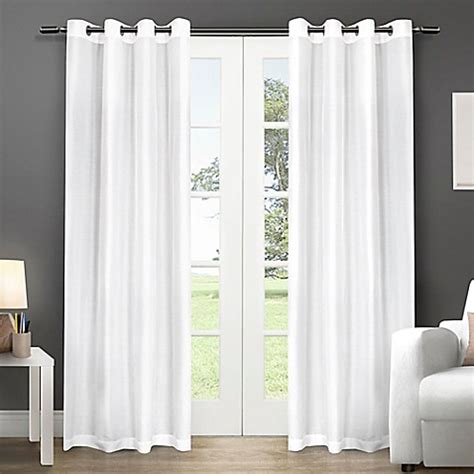 Winter Window Curtains Buy Exclusive Home Chatra 96 Inch Grommet Top Window