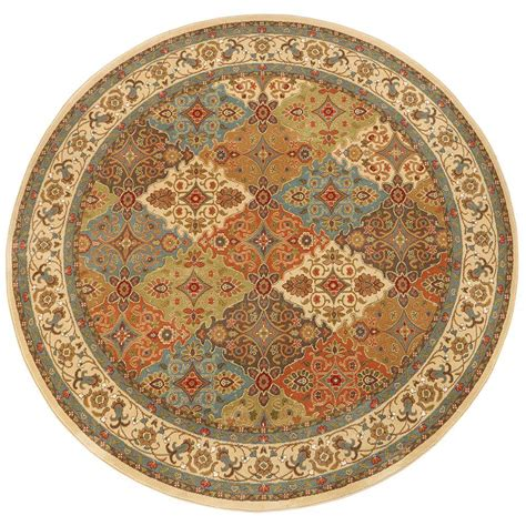 Home Decorators Collection Persia Almond Buff 8 Ft X 8 Ft 8 Foot Area Rugs