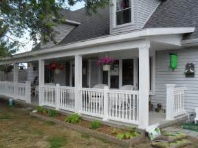 Homes With Wrap Around Porches Front Porch Ideas Build Front Porch Rebuild Front Porch