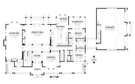 Alan Mascord Floor Plans | cool alan mascord craftsman house plans images best