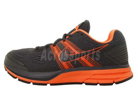 nike 4e running shoes nike air pegasus 29 4e wide anthracite grey orange mens
