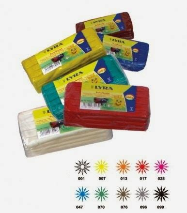 Clay Mainan Anak Edukasi 12 Warna Box Lilin Mainan Doh artgraphicstore lyra school plast clay