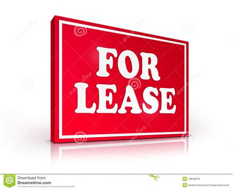 buying a leasehold house problems real estate sign for lease royalty free stock images image 12848979