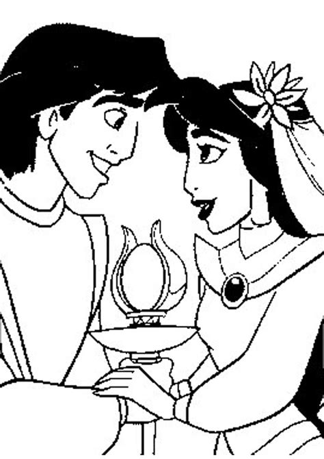 coloring pages jasmine princess disney cartoon coloring pages quot princess jasmine and aladdin quot