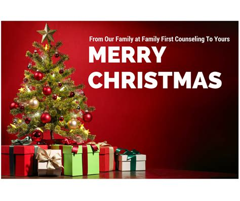 merry christmas  family  counseling
