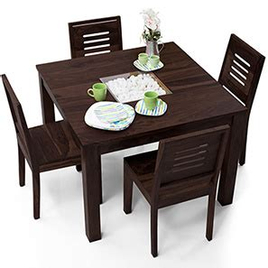 square dining tables for 4 dining table sets buy dining tables sets in india ladder
