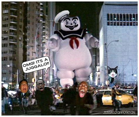 Stay Puft Marshmallow Man Meme - juggalo holocaust memes