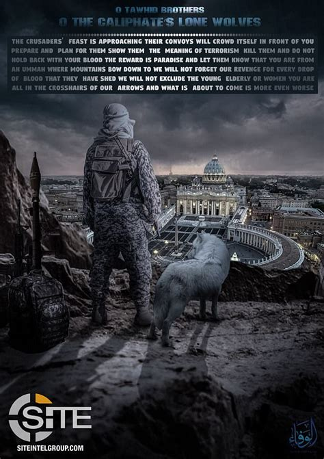 Further The Wolf Asylum threaten terror attack on in propaganda poster