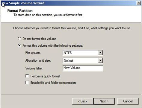 format fat32 server 2012 creating and managing mbr disk partitions on windows