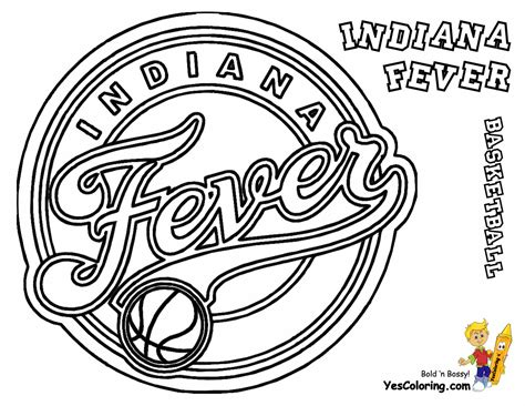 indiana basketball coloring pages indiana fever women basketball pictures to color at