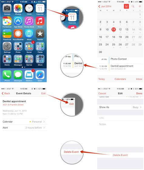 Delete Calendar How To Create Edit And Delete Calendar Events On Your