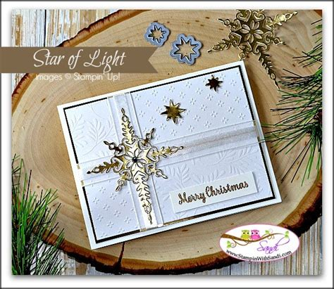 stin up star of light card star of light in gold and white
