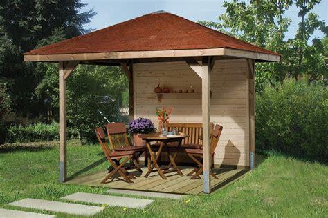 gartenpavillon holz 3x3 pavillons g 252 nstig kaufen gartenpavillon holz weka