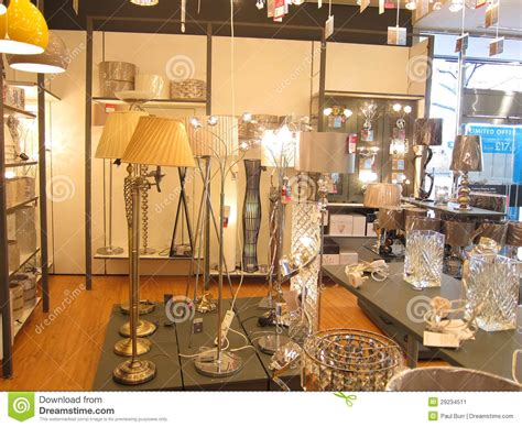 Lighting Stores Standard Ls In A Lighting Store Editorial Photo