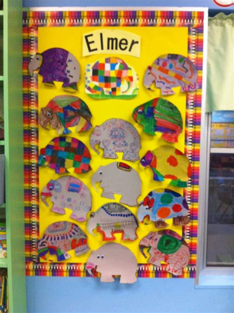Patchwork Elephant Book - 1000 images about book elmer the elephant on