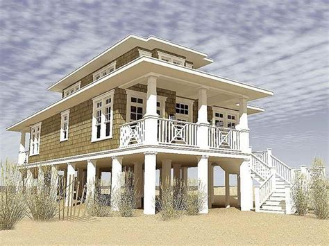 Narrow Lot Beach House Plans by Narrow Lot Beach House Plans Beach House Plans Beach