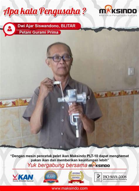 Harga Mesin Pelet Ikan Manual jual alat cetak pelet manual mks plt10 di semarang