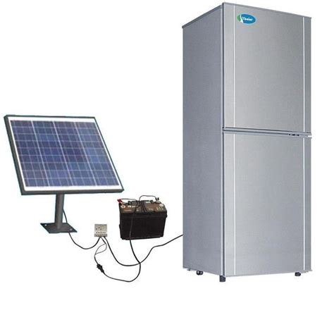 go solar on your refrigerator if you power