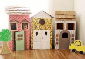 Diy cardboard playhouses a beautiful mess