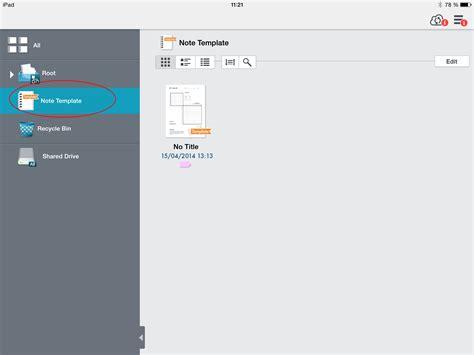 blog metamoji note create a template library to make