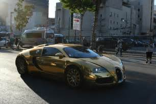 All Gold Bugatti Foxx Leaves Kimmel In Style Driving A Bugatti