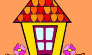 Coloriage Maison Sur Hugolescargot Com