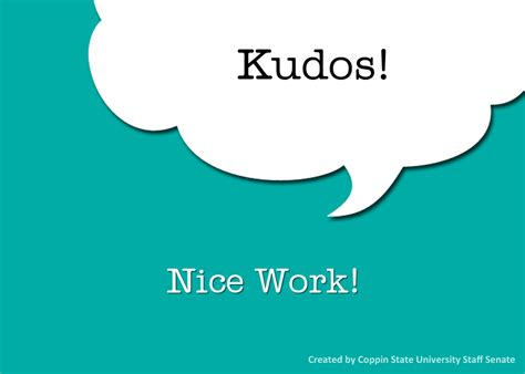Kudos Card Template by Kudos Cards For Employees Template Just B Cause