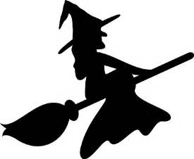Witch Silhouette Template by 1000 Ideas About Witch Silhouette On