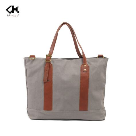 Korean Tote Bag Canvas korean fashionable designer quality waxed canvas tote bag for buy canvas material tote