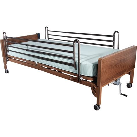 Full Length Hospital Side Bed Rail By Drive Medical Csa Bed Rail