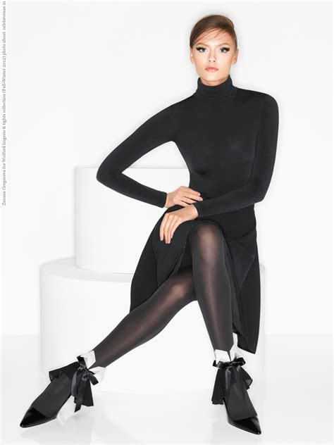 Wolford Autumn Collection by Zuzana Gregorova For Wolford Tights Collection