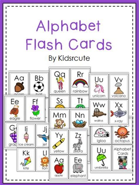 printable alphabet flash cards by nikita 170 best images about freebies for the classroom on