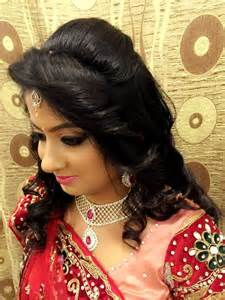 indian s bridal reception hair hairstyle by swank