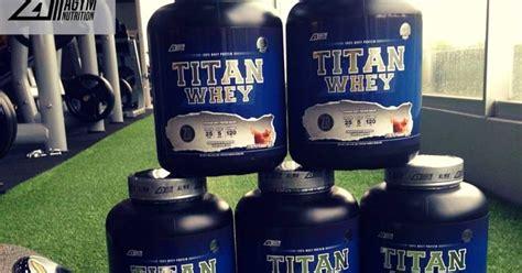 Pasaran Whey Protein Nak Badan Solid Titan Whey Protein Malaysia 100 Halal