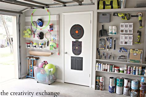 Ordinary Garage Wall Pegboard #3: DIY-Garage-Pegboard-Outdoor-Toy-Storage-Wall-The-Creativity-Exchange-3MPartner-ad1.jpg