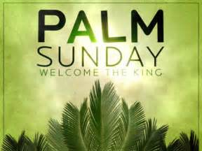 Have a blessed palm sunday remember a week before he was crucified