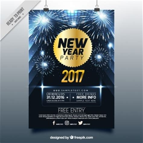 shiny new year new years vectors photos and psd files free